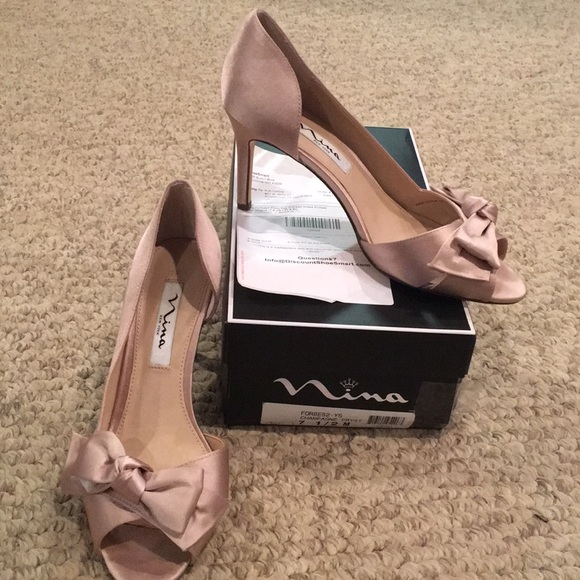 Nina Shoes | Nina Forbes 2 Champagne